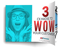 3 Hacks to Wow your Customers CXFormula